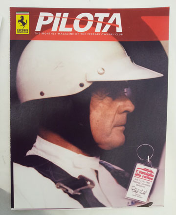 Phil Hill Magazine cover