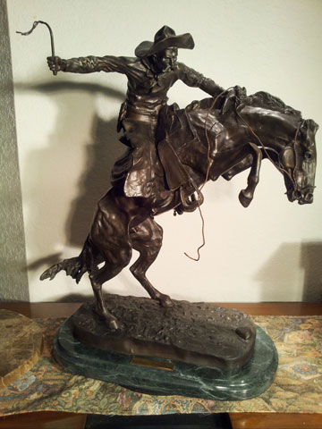 Frederic Remington Bronco Buster